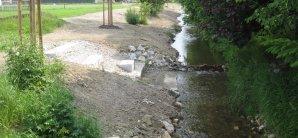 Ökologischer Gewässerausbau Schwarzach
