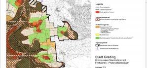 Standortkonzept Freiflächen-Photovoltaik Stadt Greding